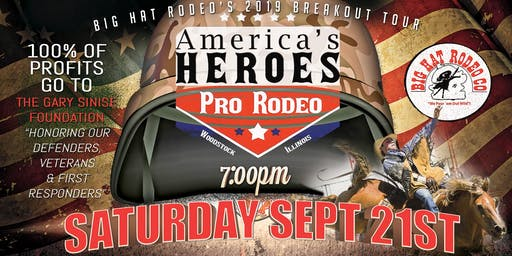 America's Heroes Pro Rodeo (Saturday)