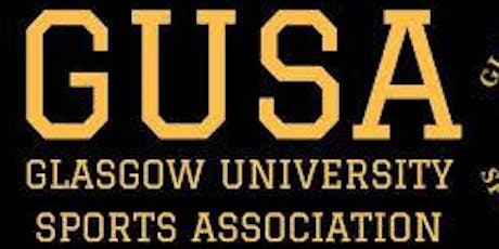 PGT Student induction: an introduction to GUSA (sports on campus) tickets