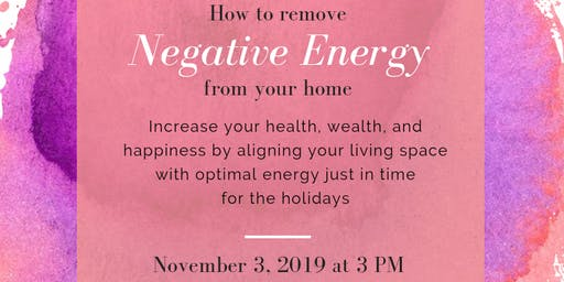 How To Remove Negative Energy From Your Home With Feng Shui