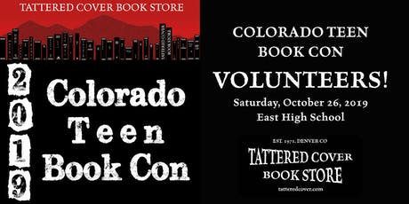 2019 Colorado Teen Book Con VOLUNTEER Registration tickets