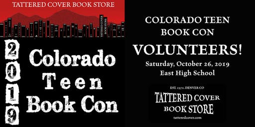 2019 Colorado Teen Book Con VOLUNTEER Registration