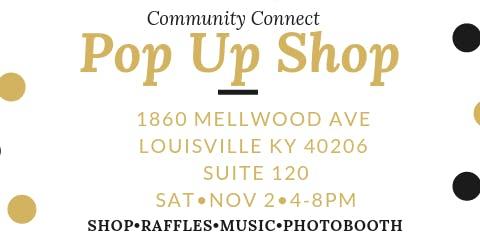 Community Connect Pop Up Shop