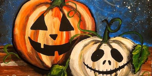 Sip 'N Paint - Pumpkins