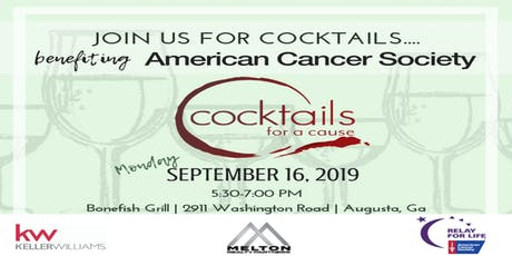 Cocktails For A Cause! American Cancer Society tickets