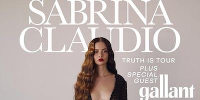 SABRINA CLAUDIO – Truth Is Tour