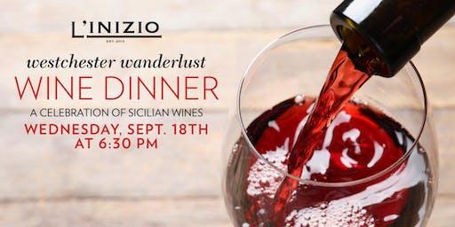 Westchester Wanderlust Wine Dinner: Sicilian Wines