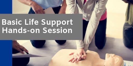 November 14 Basic Life Support Hands-On Session