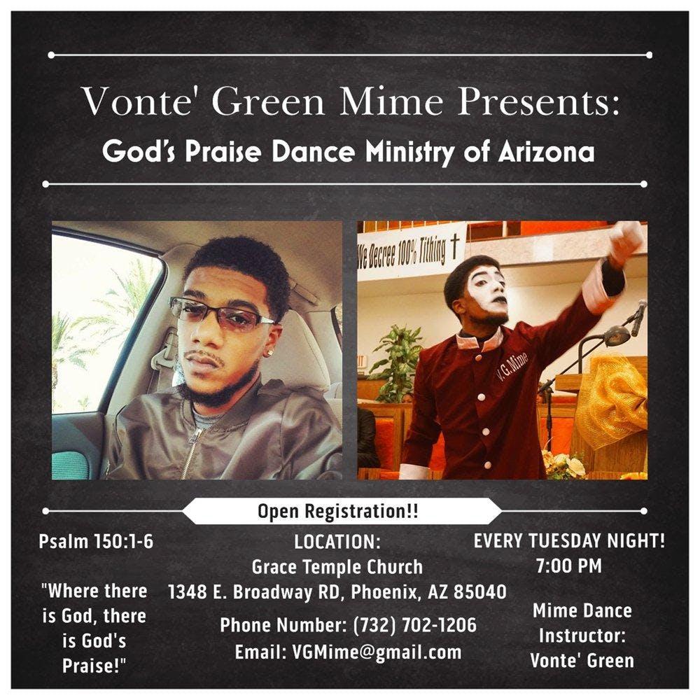 Arizona Dance Ministry Classes / Sessions