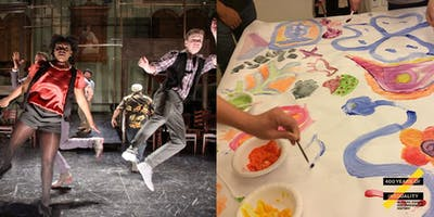 Family Performance and Art Activity - Color Between the Lines
