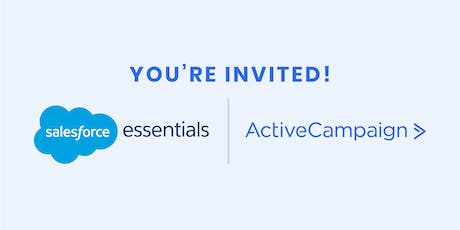 ActiveCampaign Salesforce Integration Launch Party tickets