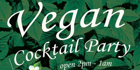 Vegan Cocktail Party tickets