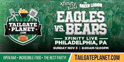 The Green Legion Tailgate – Eagles vs. Bears