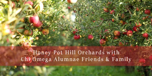 Apple Picking with Chi Omega Alumnae, Friends, and Family