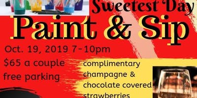 Sweetest Day Paint and Sip for 2