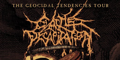 Cattle Decapitation, Atheist, Full of Hell, & More!