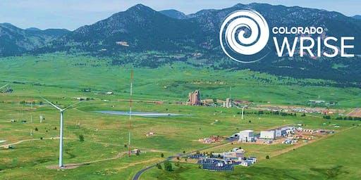 WRISE Colorado NREL Wind Technology Center Tour