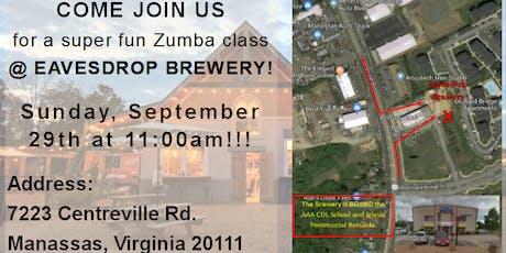 Zumba at Eavesdrop Brewery tickets