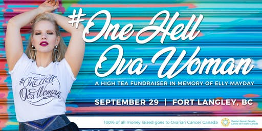 #OneHellOvaWoman High Tea Fundraiser