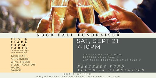 Tux & Tiara Benefit: NBGB Fall Fundraiser 2019