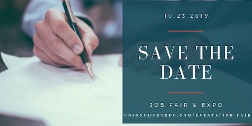 Employer Sign Up - Job Fair Oct 23, 2019