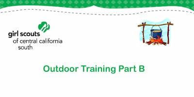 Outdoor Training Part B - Tulare