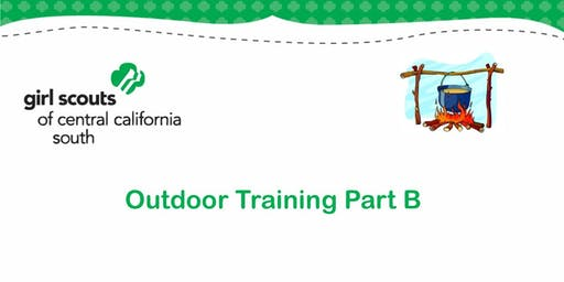 Outdoor Training Part B - Tulare