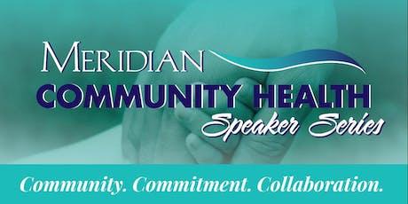 Meridian's Community Health Speaker Series: Sam Quinones in Lafayette tickets