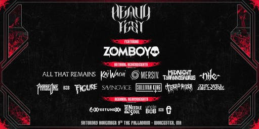 HEAVY FEST: Chapter Two ft. Zomboy, All That Remains & More