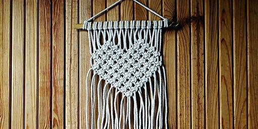 Heart Wall Hanging  Macrame Workshop