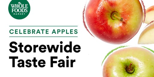 Celebrate Apples:  Storewide Taste Fair