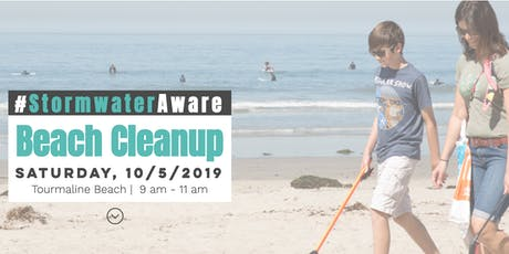 #StormwaterAware Beach Cleanup tickets