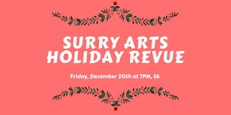 Holiday Revue 2019 tickets