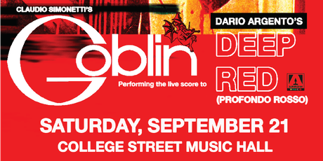 Claudio Simonetti's Goblin: Performing the live score to Deep Red tickets