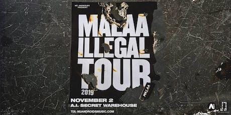 Malaa at A.i. [Secret Warehouse] (21+)
