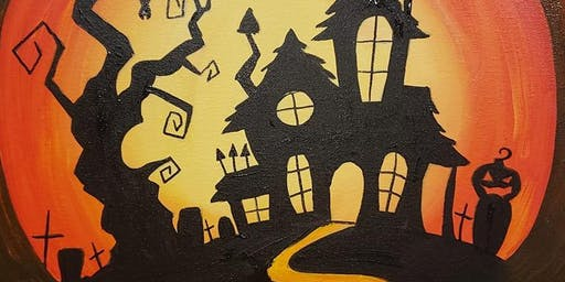 Spooky Halloween paint & create at Pino's Pizzaria