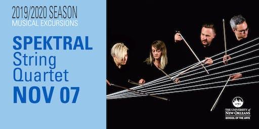 Musical Excursions: SPEKTRAL QUARTET - LOOKING SKYWARD