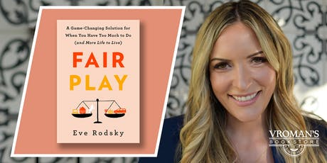 Eve Rodsky discusses and signs Fair Play tickets