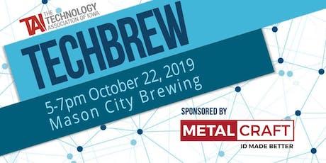 TechBrew October tickets