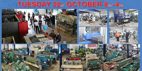 Metalworking Machinery Demo Day Event. See Huge Press Brakes and Water Jets in Action tickets