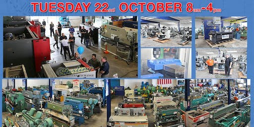 Metalworking Machinery Demo Day Event. See Huge Press Brakes and Water Jets in Action
