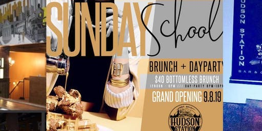 SUNDAY SCHOOL BRUNCH/DAY PARTY