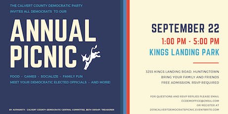 Calvert Democrats Annual Picnic tickets