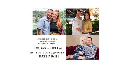 RODAN + FIELDS not for couples only DATE NIGHT tickets