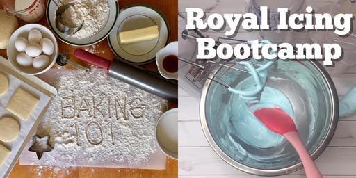 Baking and Royal Icing Bootcamp - Spring Hill