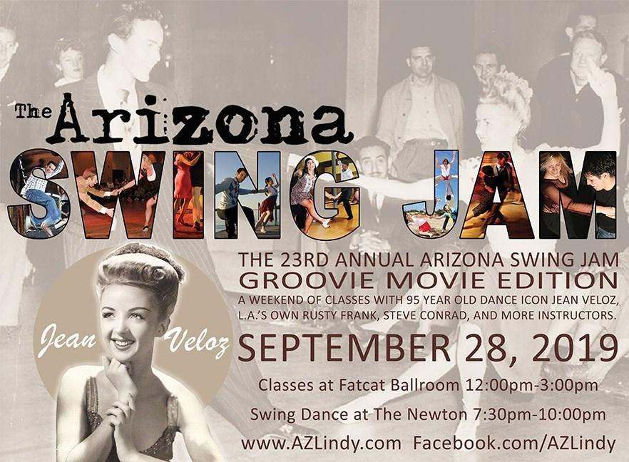 AZ Swing Jam XXIII - Groovie Movie Weekend with icon Jean Veloz