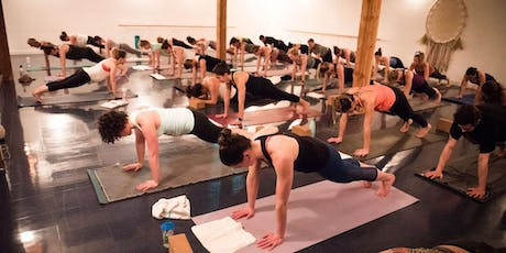 Glow and Flow Yoga Party at Oranj Express Penticton tickets