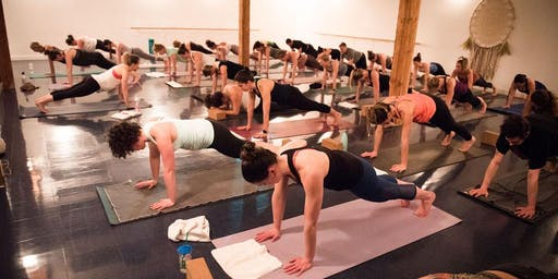 Glow and Flow Yoga Party at Oranj Express Penticton