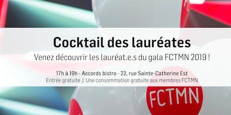 Cocktail des lauréates billets