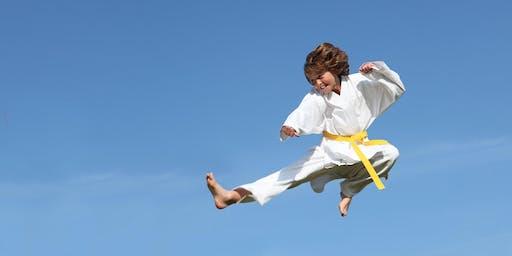 Free Kids Karate Leadership Clinic