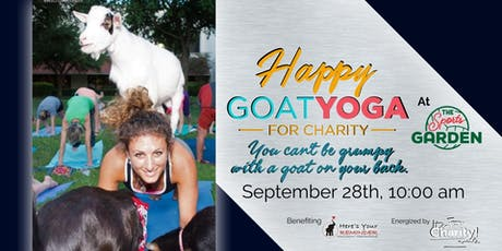 Happy Goat Yoga-For Charity at Sports Garden DFW tickets